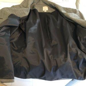 Halogen Jackets & Coats - HALOGEN BLACK AND GRAY BLAZER